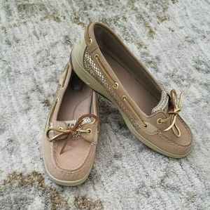 Lovely Ladies Sparkly Sperry Boat Shoes